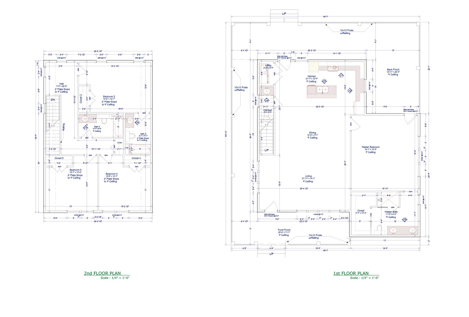 Hackberry Floor plan